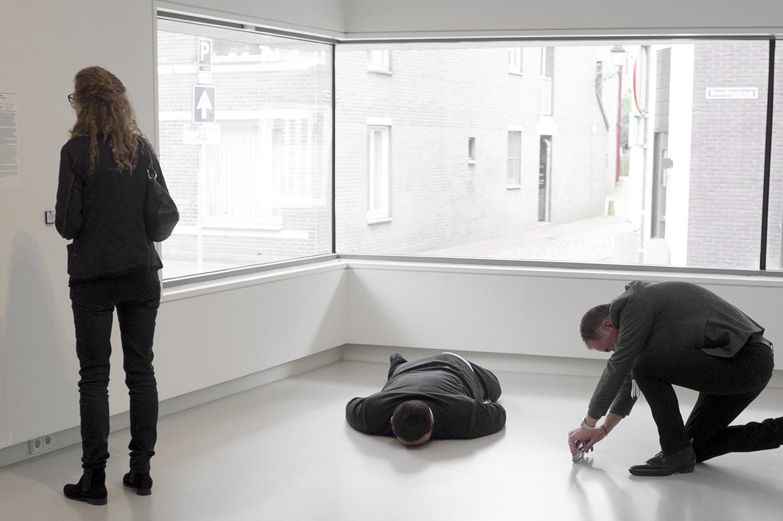 2018- [SELF] PORTRAITS - Death of Marat, He Xiangyu, Het NoordBrabants Museum, 's-Hertogenbosch