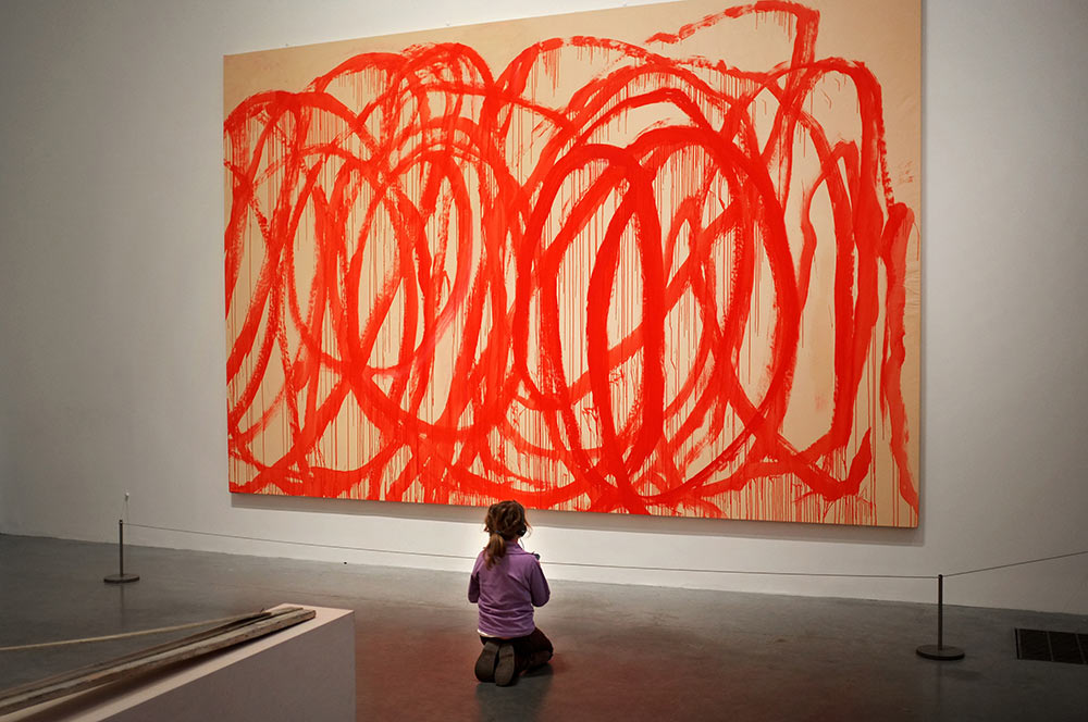 2013- [SELF] PORTRAITS - Untitled (Bacchus) 2008, Cy Twombly, Tate Britain, London