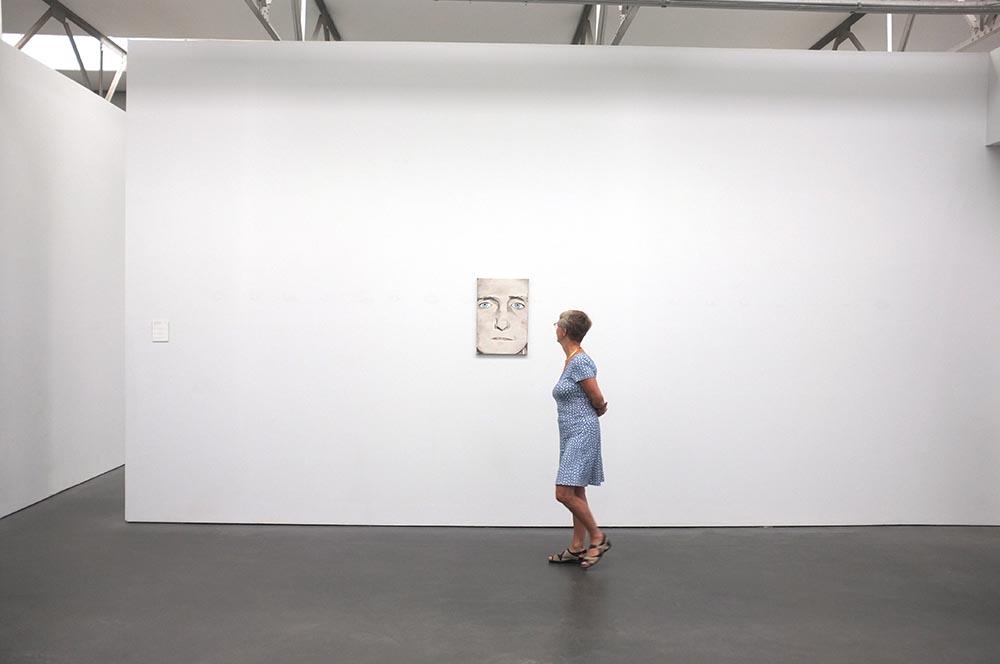 2015- [SELF] PORTRAITS - Diagnostische Blick IV van Luc Tuymans / Museum De Pont, Tilburg