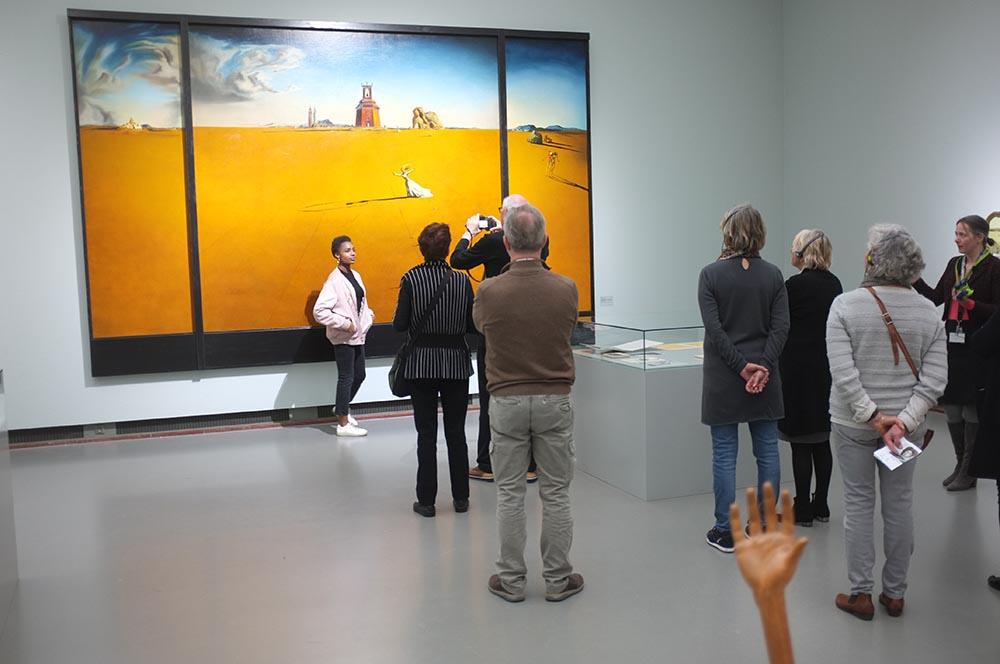 2017- [SELF] PORTRAITS - Landschap met touwtje springend meisje van Salvador Dalí / Landscape with string jumping girl from Salvador Dalí, Museum Boijmans van Beuningen, Rotterdam