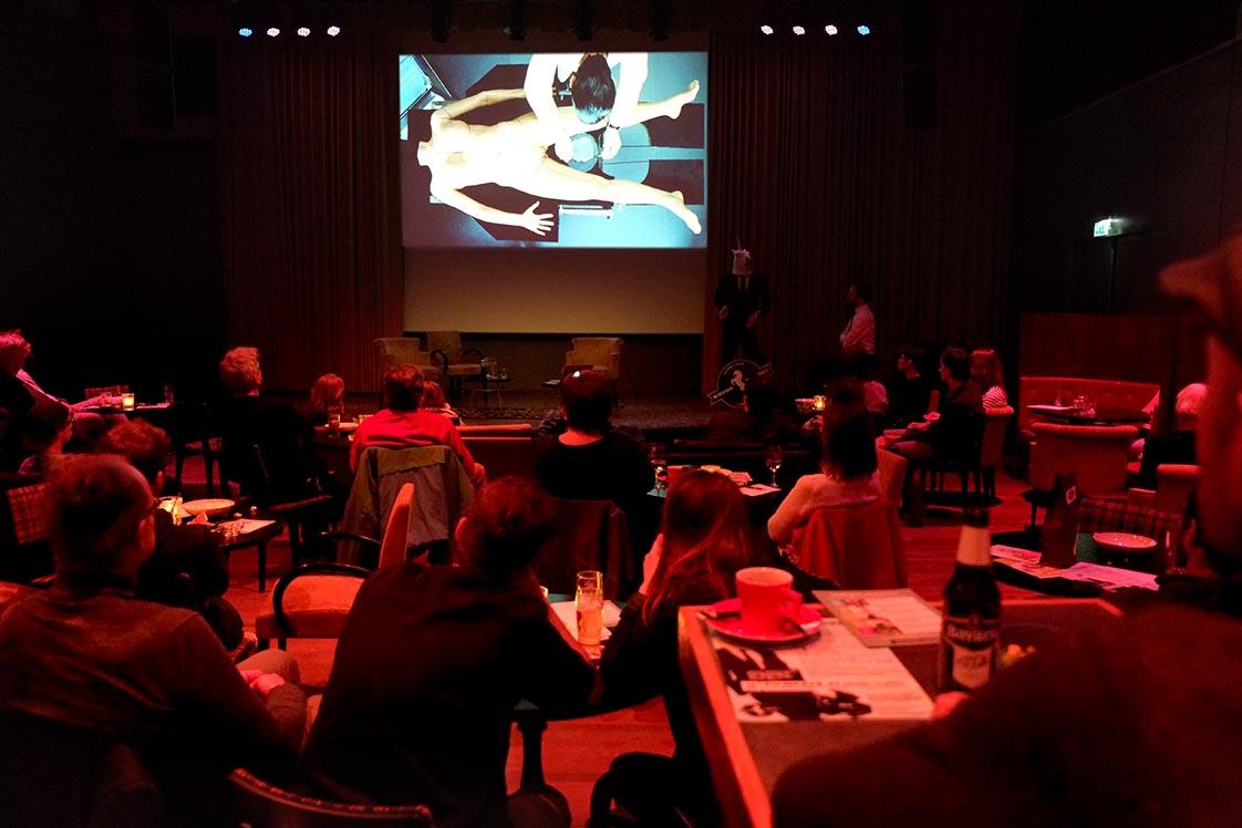 2017- [SELF] PORTRAITS - In Focus, lezing over filmregisseur Pedro Almodóvar door Coen Haver / In Focus, lecture on film director Pedro Almodóvar by Coen Haver, filmcafe NIEUWE FILMERS, Verkadefabriek 's-Hertogenbosch