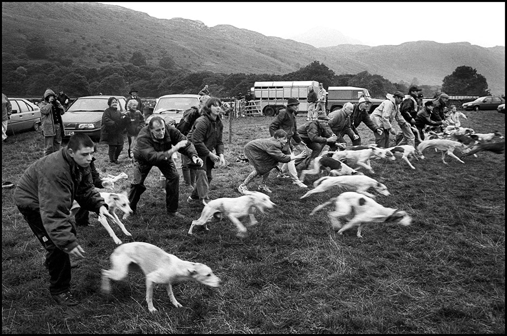 1994- SELLAFIELD NUCLEAR - Eskdale show, traditional farmers show with wrestling and sheep dog racing