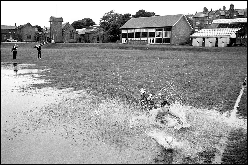 1994- SELLAFIELD NUCLEAR - Students St. Bees School making fun on sports field