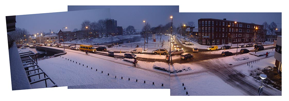 2004-2018 - CROSSING - panoramaschets / panorama sketch, 's-Hertogenbosch