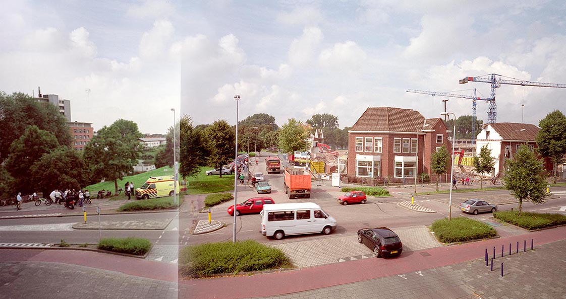 2004-2018 - CROSSING - panoramaschets / panorama sketch, 's-Hertogenbosch