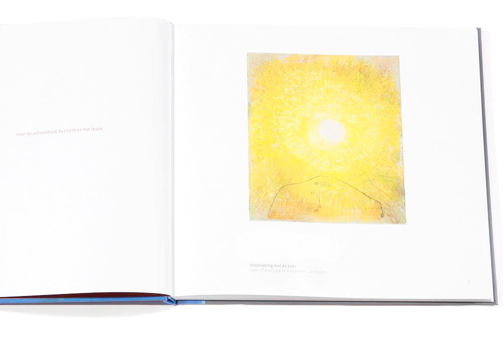 2013 - BOEK JAN MOERBEEK - Titel werk ONTMOETING MET DE BRON 1998 / Title work ONTMOETING MET DE BRON 1998