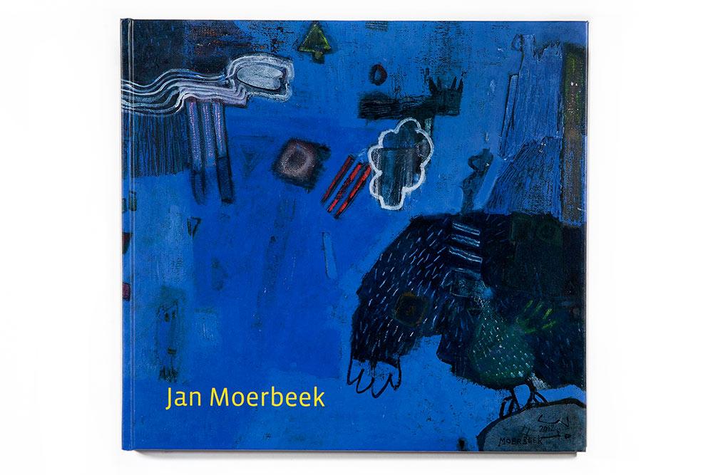2013 - BOEK JAN MOERBEEK - Cover boek, titel werk EENVOUD IN BLAUW - Cover book, title work EENVOUD IN BLAUW