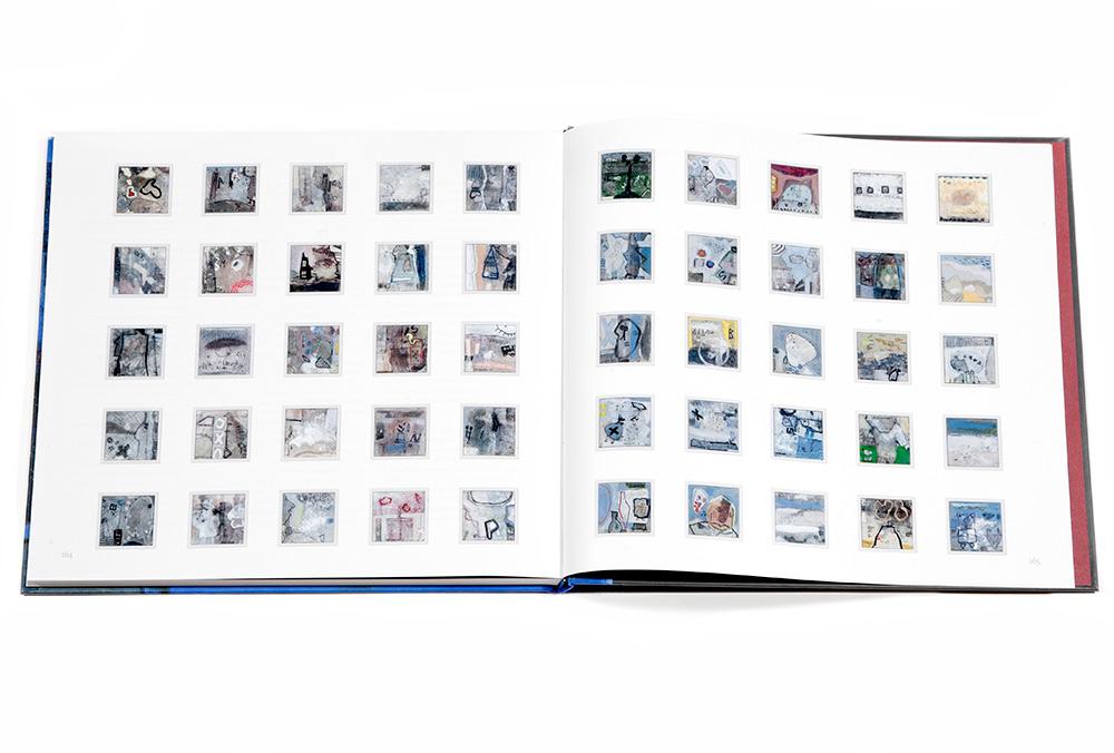 2013 - BOEK JAN MOERBEEK -  serie klein formaat werken 2013 / series small format works 2013