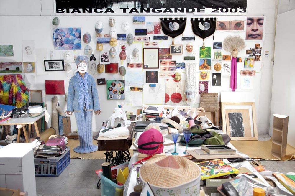 2012- KUNSTENAARS / ARTISTS -  Atelier Bianca Tangande, 's-Hertogenbosch