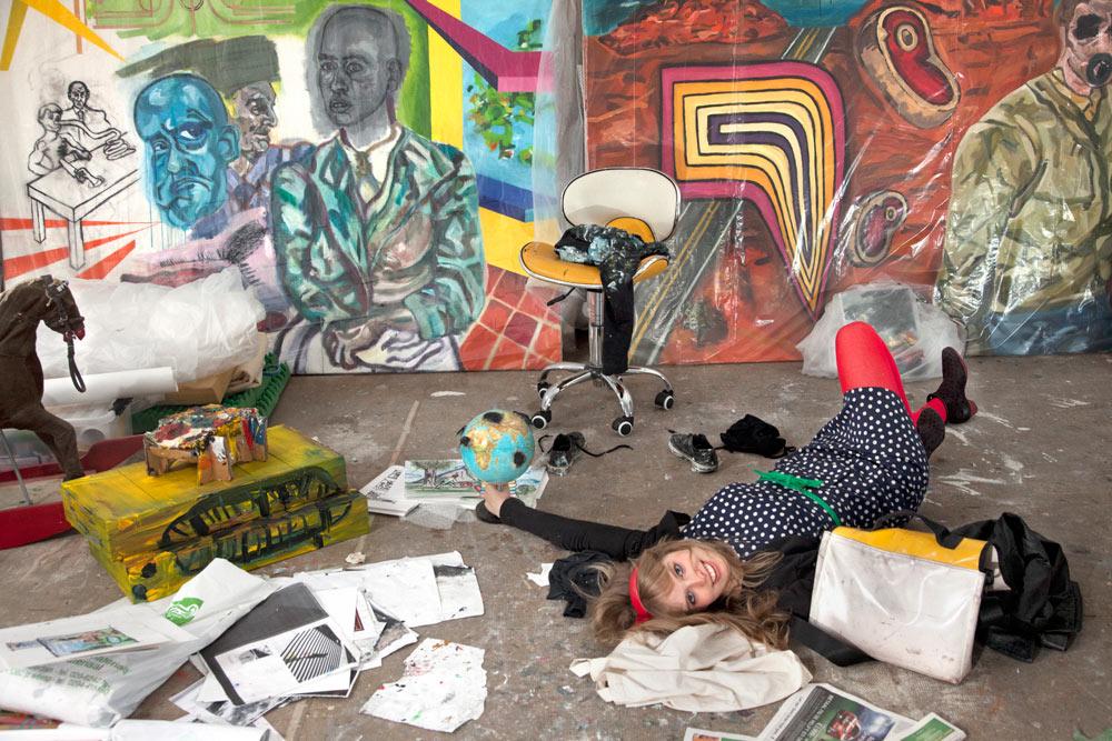 2012- KUNSTENAARS / ARTISTS -  Atelier Marthe Zink, 's-Hertogenbosch