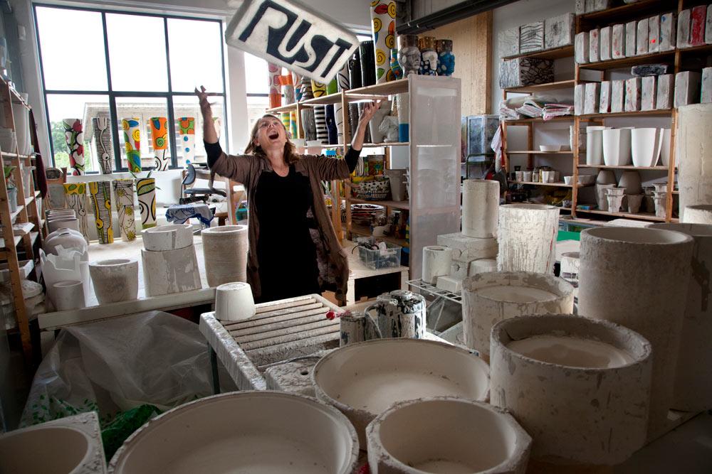 2012- KUNSTENAARS / ARTISTS -  Atelier Gert de Mulder, 's-Hertogenbosch