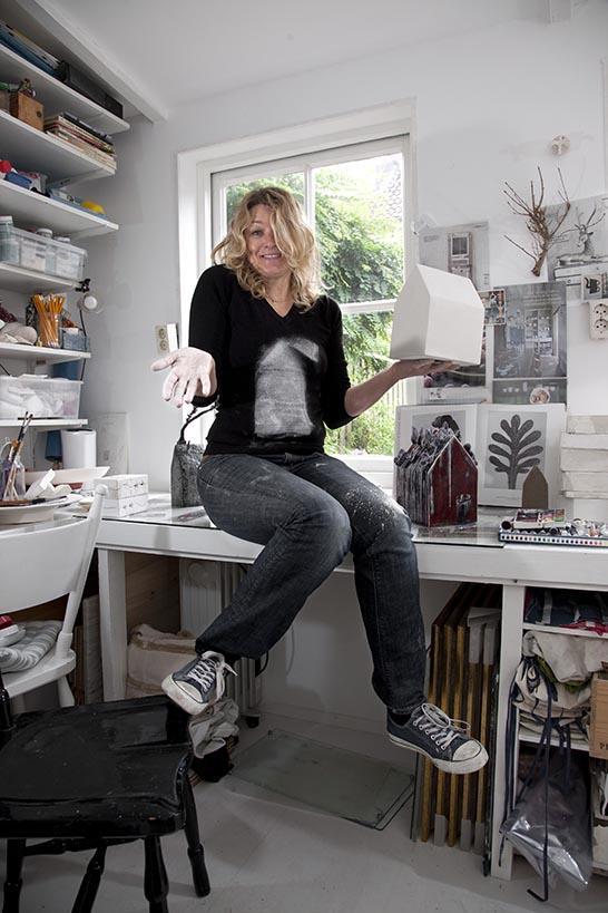2012- KUNSTENAARS / ARTISTS -  Atelier Nataschavan der Linden, 's-Hertogenbosch