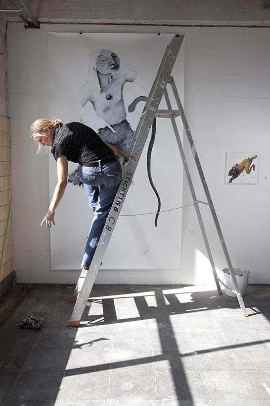 2012- KUNSTENAARS / ARTISTS -  Atelier Jolanda Moolenaar, 's-Hertogenbosch